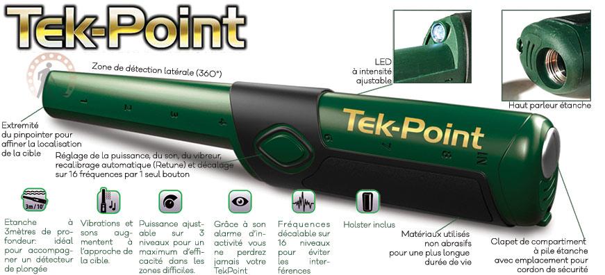 Pinpointer teknetics tekpoint