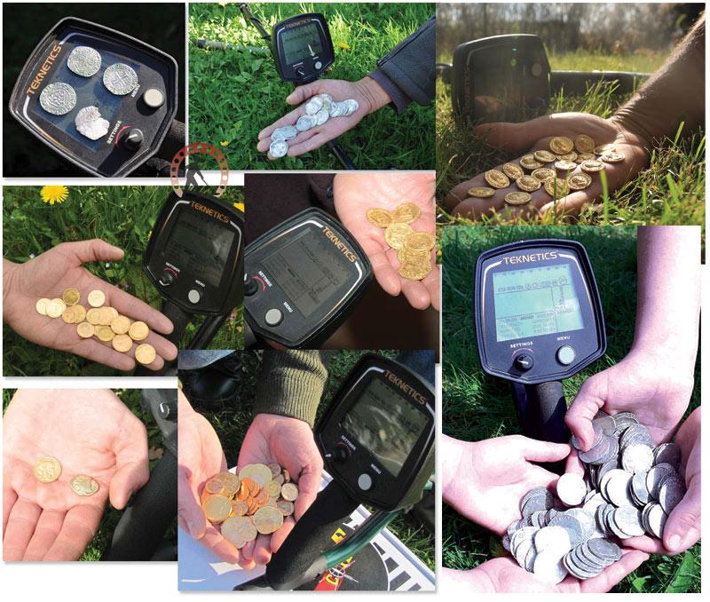 Trésors détecteur de métauw Teknetics T2 monnaie d'or