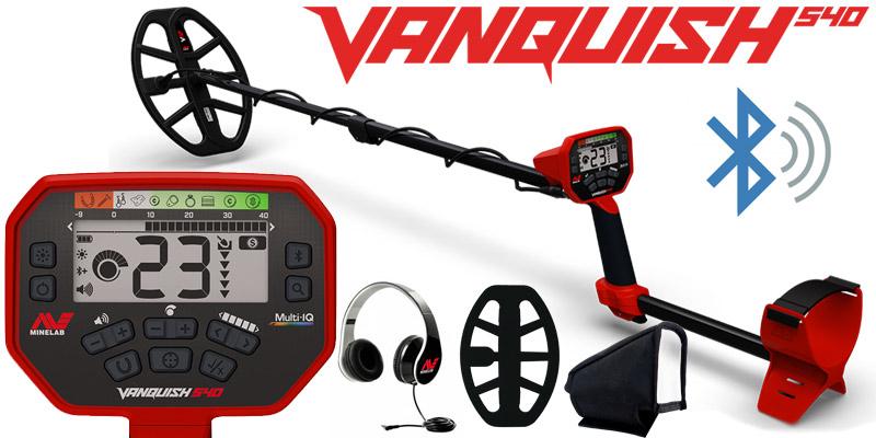 Détecteur de métaux Minelab VANQUISH 540