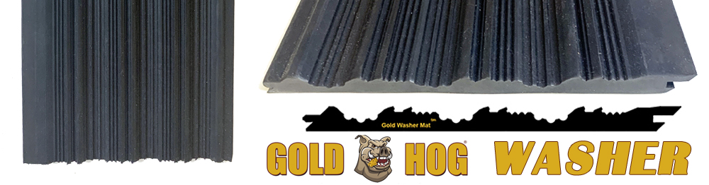 Tapis de lavage pour l'orpaillage WASHER de Goldhog