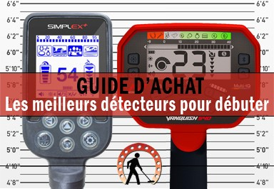 The 16 best detectors to start the hobby from 100€